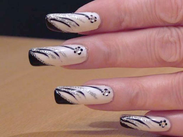 Рисунки на своих ногтях в домашних условиях фото